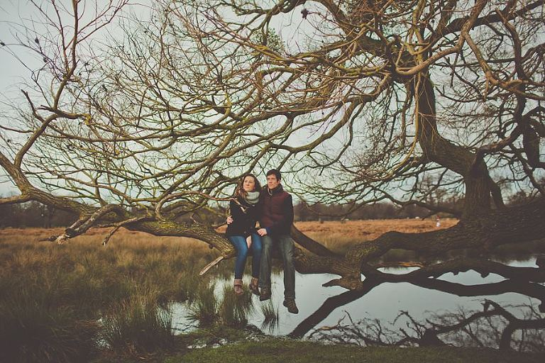 Bushy_Park_Engagement_Photography_Amy_B_Photography_Creative_Alternative_London_Wedding_Photographer_0007