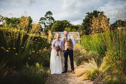 secret walled garden wedding