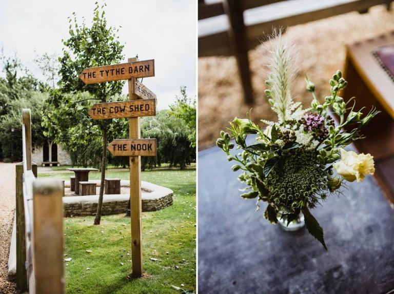 Tythe Barn Wedding in Oxfordshire